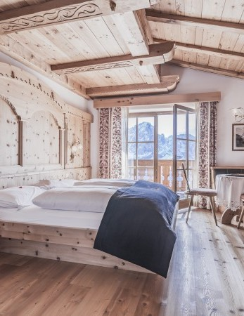 Alm Suite in this exclusive 4-star hotel in South Tyrol