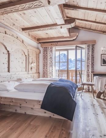 Alm Suite in diesem exklusiven 4-Sterne-Hotel in Südtirol