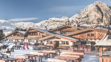 Berghotel im UNESCO Weltnaturerbe Dolomiten