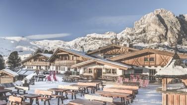 Außenansicht Skihotel Gröden