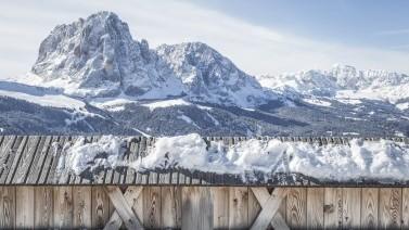 Skihotel in Gröden mit unvergleichlicher Aussicht