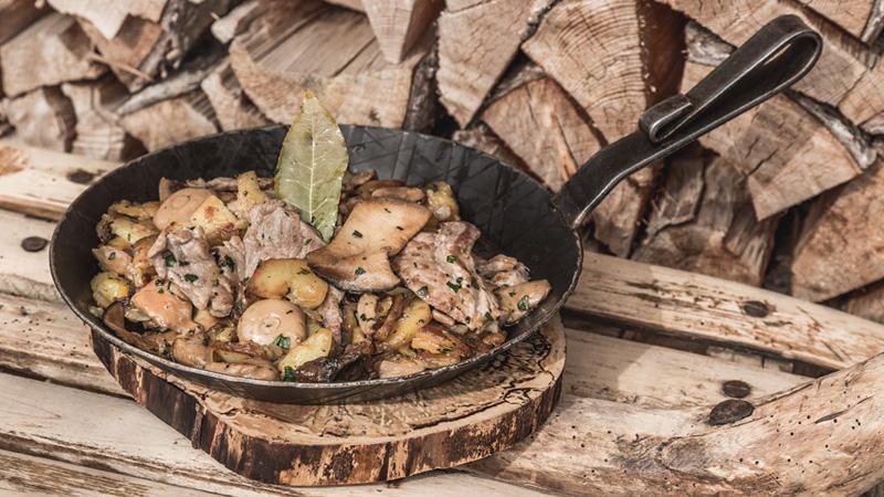 Die ehrliche, unglaubliche leckere Küche im Berghotels in Südtirol