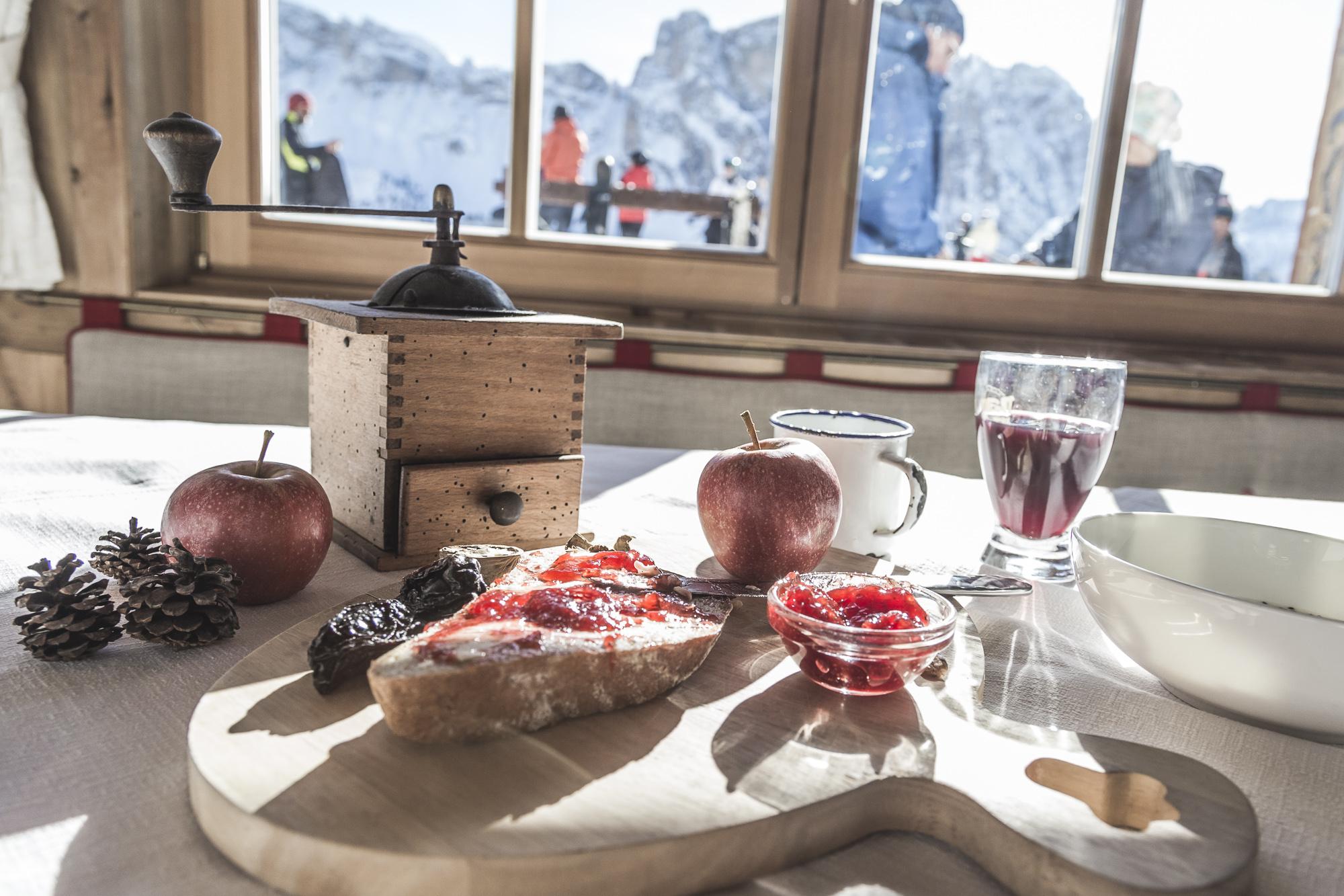 Frühstück in Ihrem Skihotel Gröden