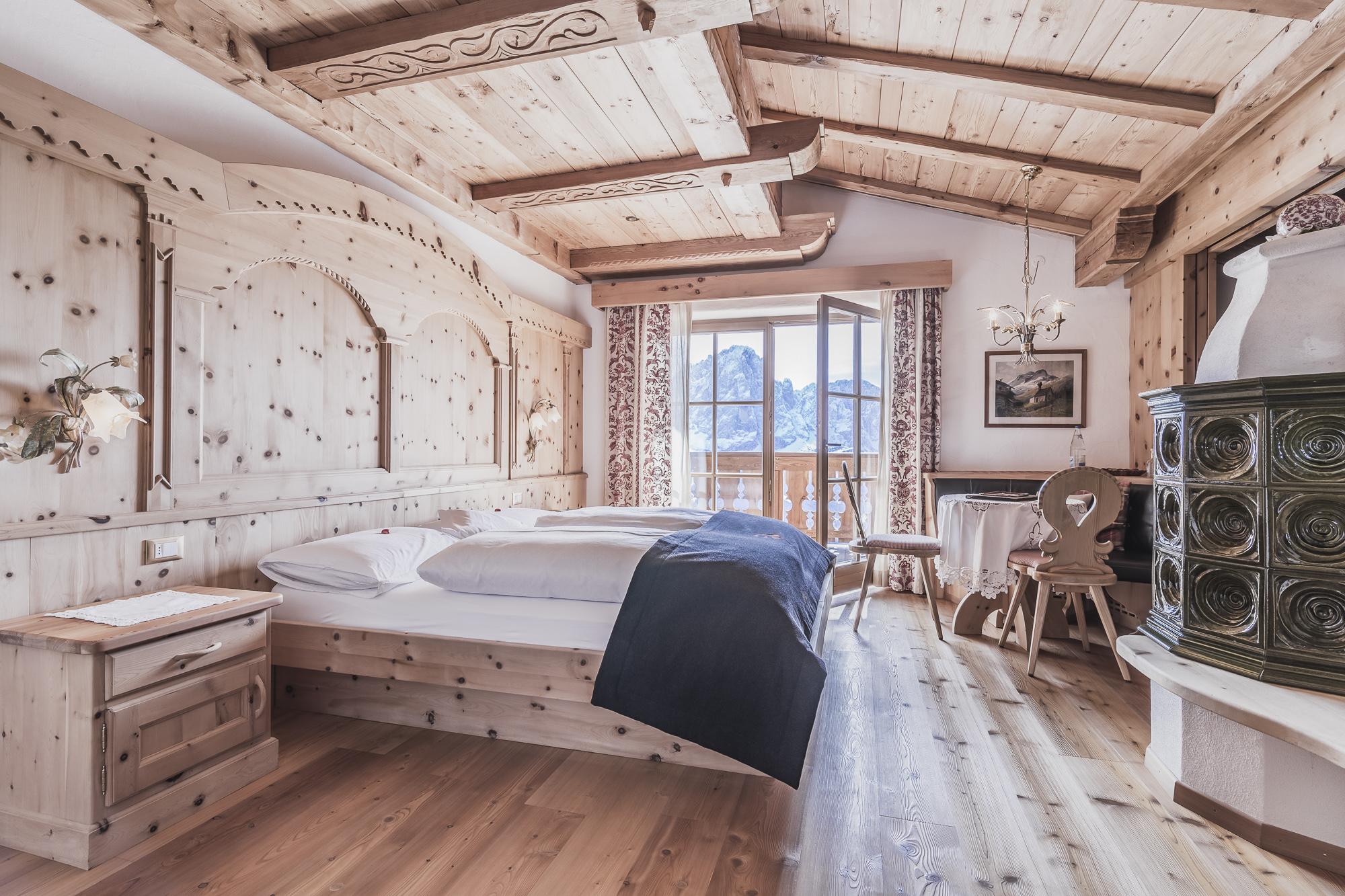 Alm Suite nel esclusivo hotel a quattro stelle in Alto Adige